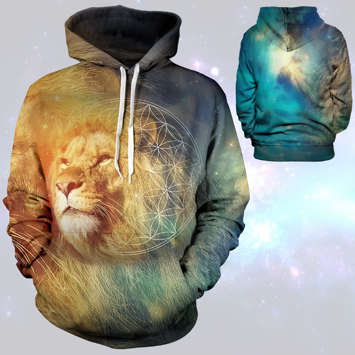 The King Returns Unisex Pullover Hoodie M