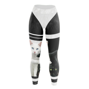 Yin Yang Cats Unisex Tights Leggings