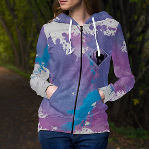 Into the Woods Unisex Zipped Hoodie