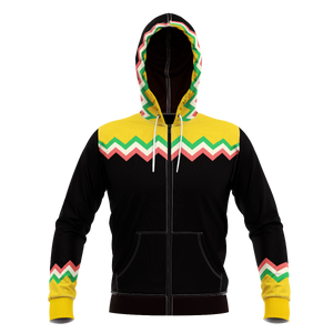 Taco Emergency Unisex Zipped Hoodie Zip
