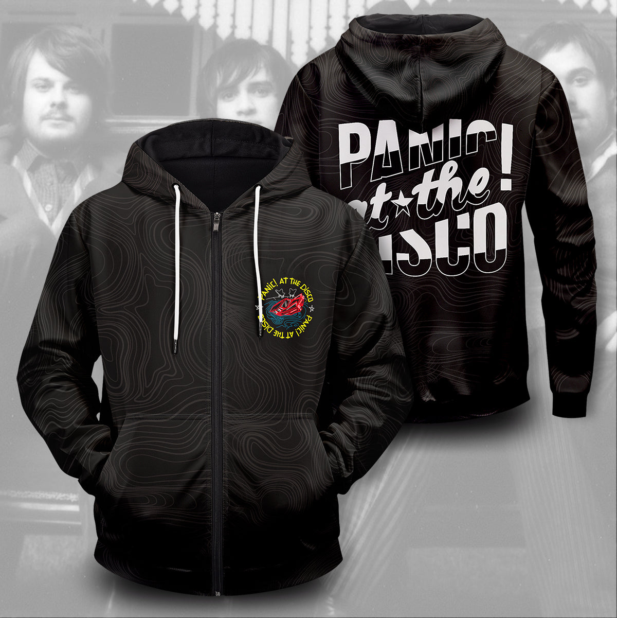 Panic at the Disco Unisex Zipped Hoodie