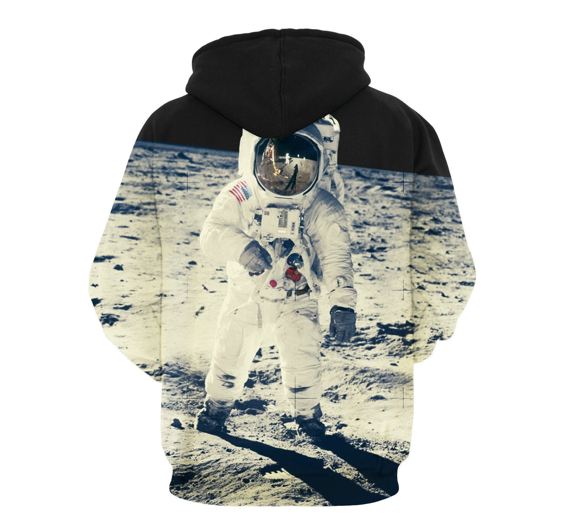 Astronaut In Space Unisex Pullover Hoodie