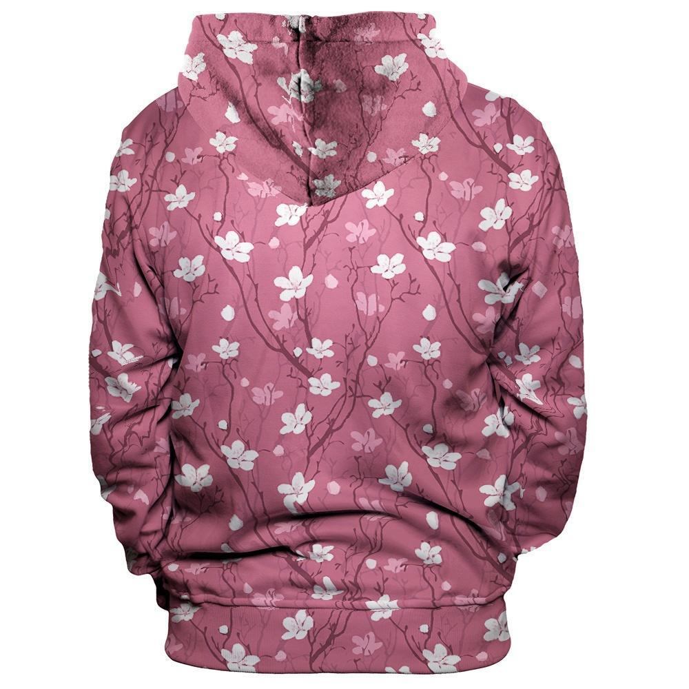 Cherry Blossoms Unisex Pullover Hoodie
