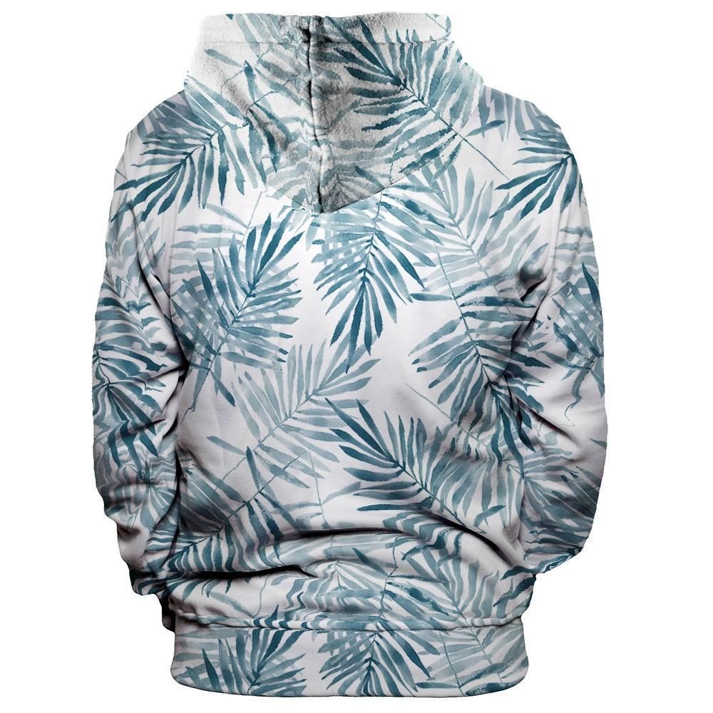 Palm Leaves Unisex Pullover Hoodie