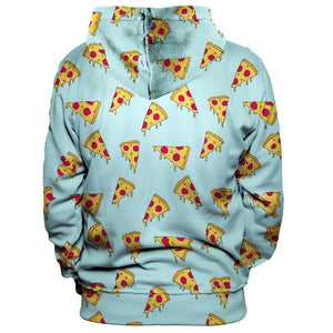 Pizza Slices Unisex Pullover Hoodie