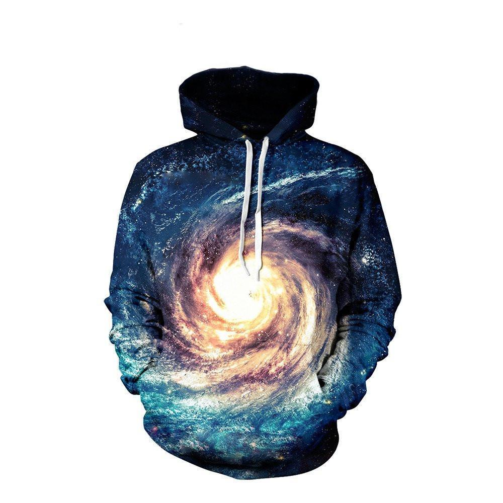 Whitehole Unisex Pullover Hoodie M