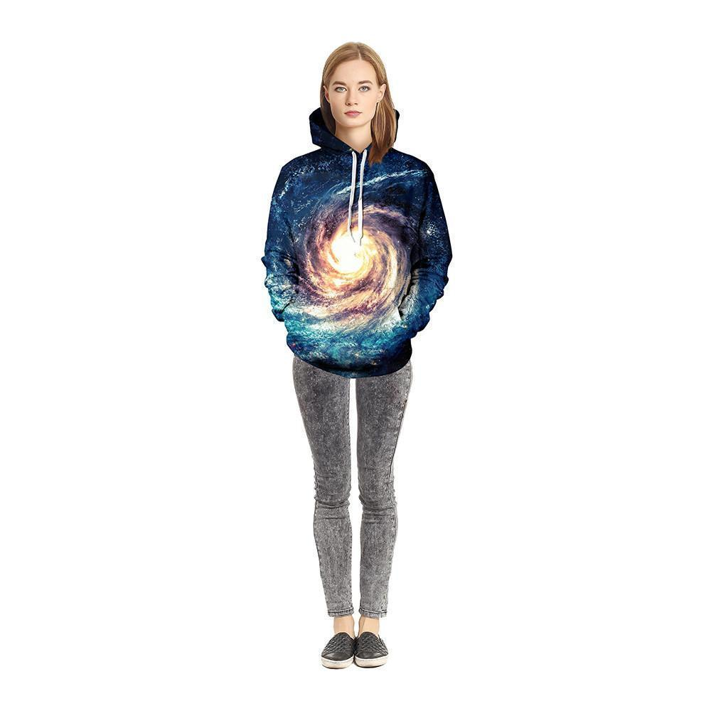 Whitehole Unisex Pullover Hoodie