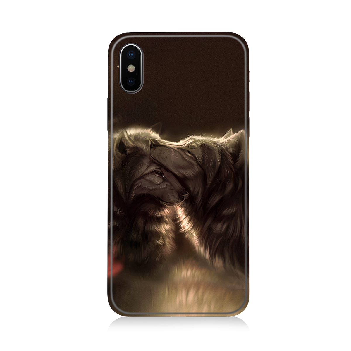 Divine Couple Wolf Phone Case Iphone 7