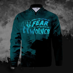 Let Go Of Fear Zipped Jacket S