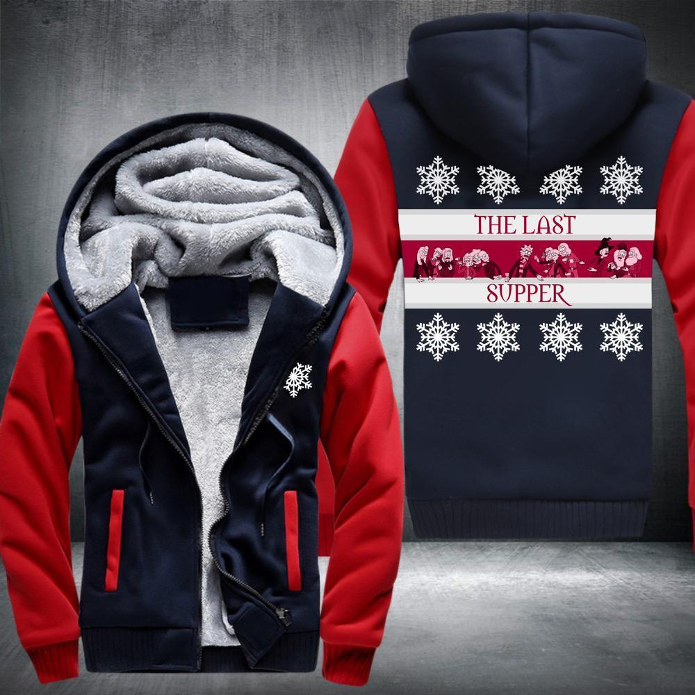 The Last Supper (Hogwarts) Fleece Jacket Red / S
