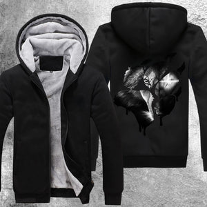 The Scarred One Fleece Jacket Black / S