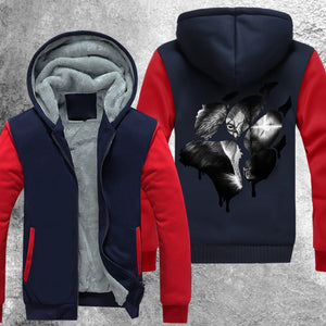 The Scarred One Fleece Jacket Red / S