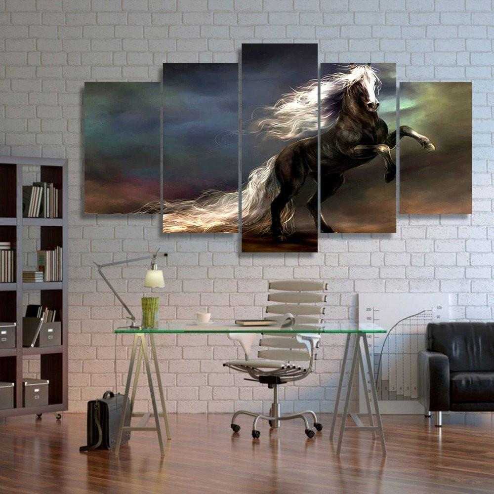 Antagonist Ride 5 Piece Canvas Small / No Frame Wall