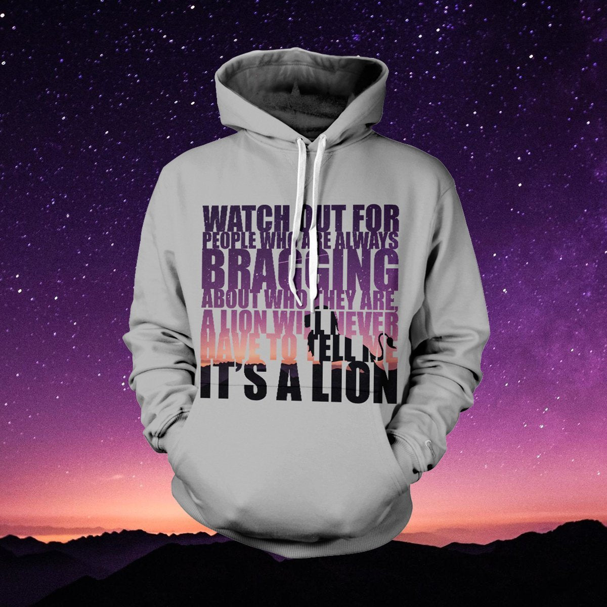 Watch Out Unisex Pullover Hoodie