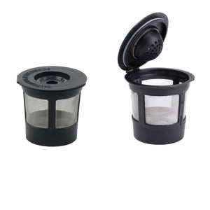 Reusable K-cup coffee pods