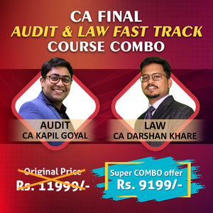 CA Final Audit and Law Fast Track combo