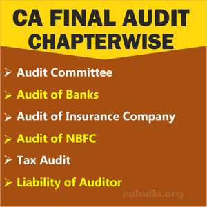 CA Final Audit_Category 5(Regular course)