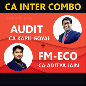 Auditing & FM-Eco Regular Course Combo