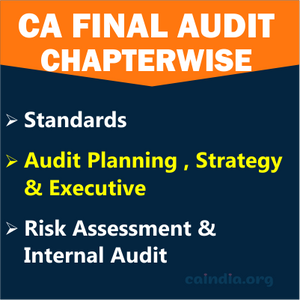 CA Final Audit_Category 1(Regular Course) Image
