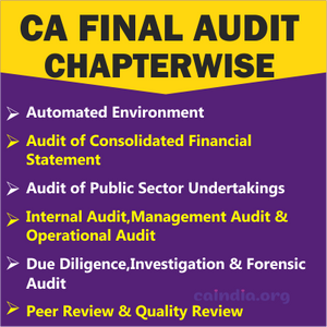 CA Final Audit_Category 2 (Regular Course)