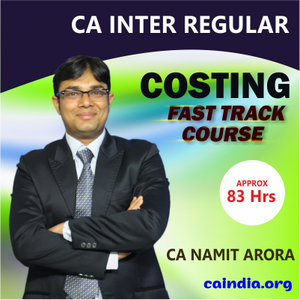 CA Inter Costing by Namit Arora_Fast Track (P3)