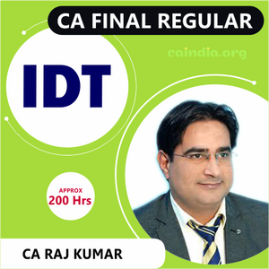 CA FINAL IDT_Regular Course(P8)