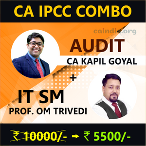 CA INTER Audit & IT SM by Kapil Sir and Om Trivedi Sir