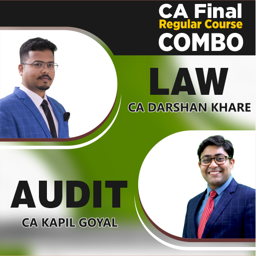 CA FINAL Audit & Law Regular Course Combo