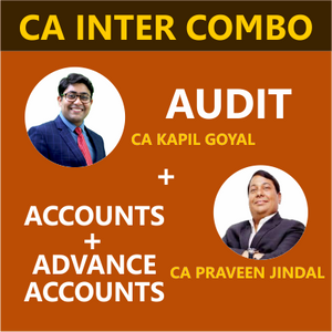 CA Inter Accounts, Advance accounts, Audit by Parveen Jindal Sir & Kapil Sir