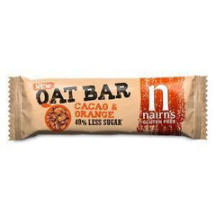 Nairn's - Oat Bar Cacao & Orange 40g