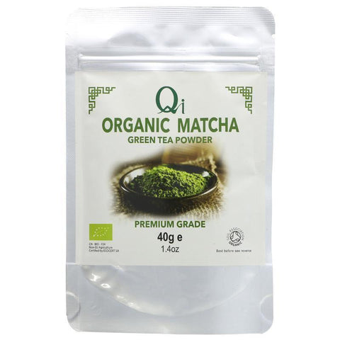 Qi - Matcha Green Tea Powder 40g