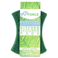 Ecoforce - Heavy Duty Kitchen Scourer 3's 3