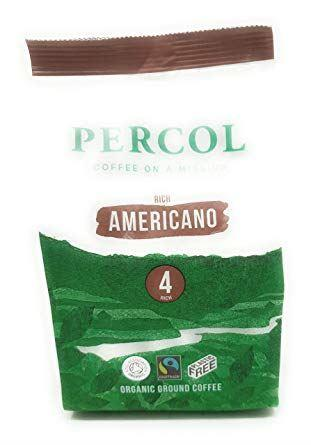 Percol - Rich Americano Fairtrade Organic 200g