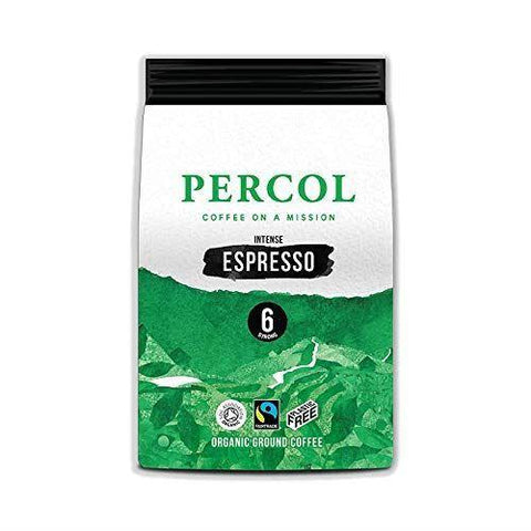 Percol - Intense Espresso Fairtrade Organic 200g