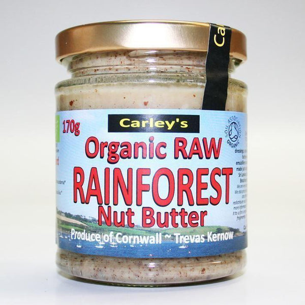 Carley's - Raw Rainforest Nut Butter 170g