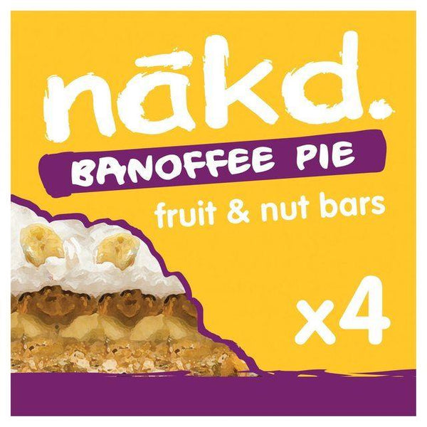 Nakd - Banoffee Pie Multipack 4 x 35g