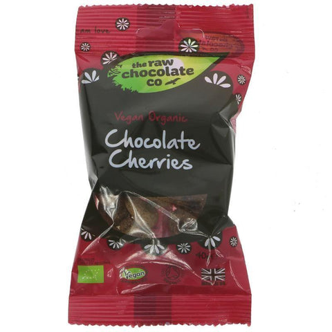 The Raw Chocolate Co - Chocolate Cherries 40g