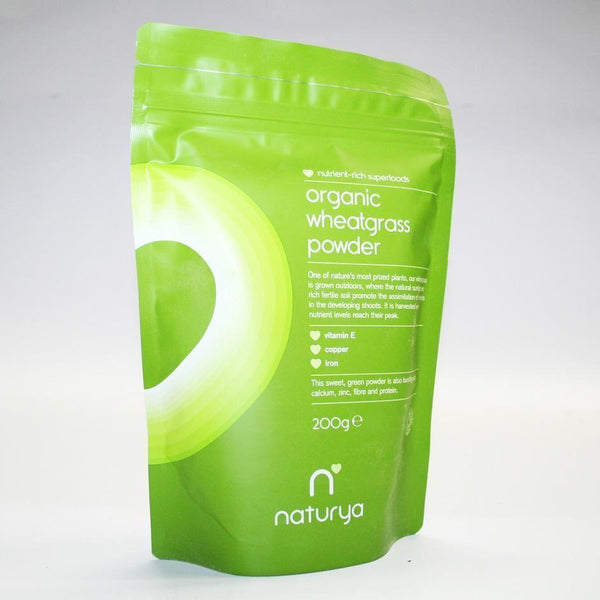 Naturya - Organic Wheatgrass Powder 200g