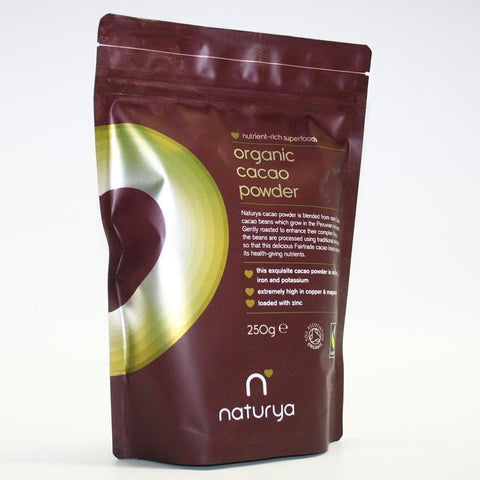 Naturya - Organic Cacao Powder F/trade 250g