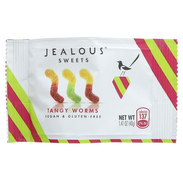 Jealous Sweets - Tangy Worms 40g