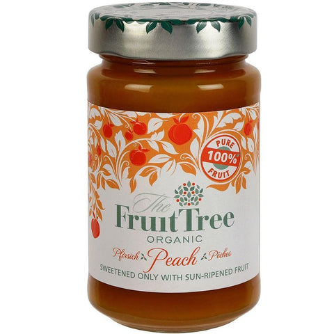 Fruit Tree - Peach Fruit Spread Organic 250g