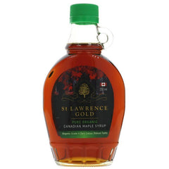 St Lawrence Gold - Organic Maple Syrup Grade A Dark 250ml