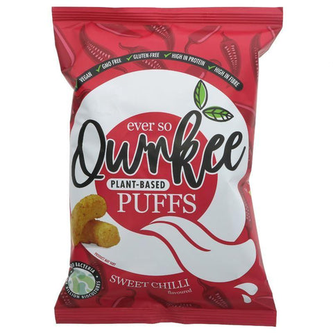 Qwrkee - Sweet Chilli Puffs - 10 x 80g