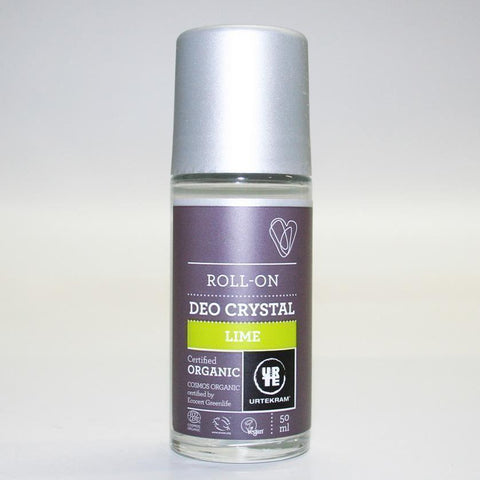 Urtekram - Lime Crystal Roll On Deodorant 50ml