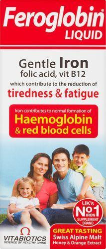 Vitabiotics Ltd A - Vitabiotics  Feroglobin 500ml