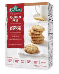 Healthy Food Brands Ltd A - Orgran  Amaretti Biscotti 150g