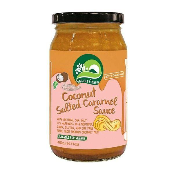 Nature's Charm - Salted Caramel Sauce 200g