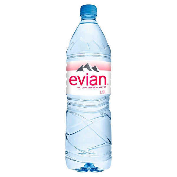 Danone Waters Uk And Ireland A - Evian Mineral Water - Pet 1.5ltr