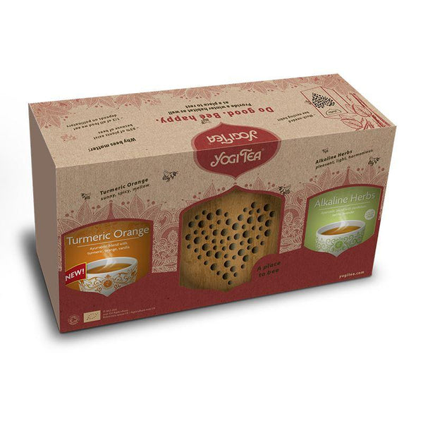 Yogi Tea - Bee Hotel Gift Set With 2 Teas Gift Set
