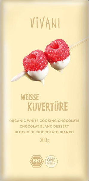 Vivani - Organic White Cooking Chocolate 200g